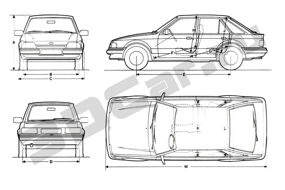 Ford Escort Limousine by FAQ