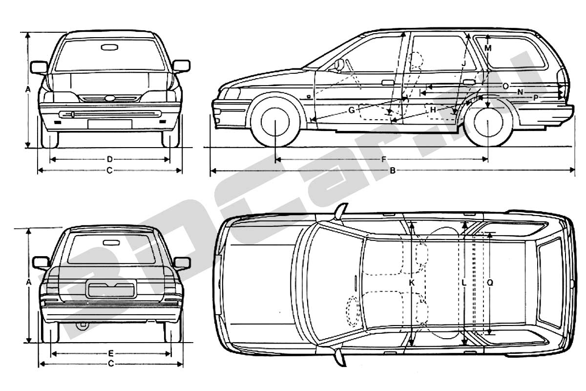 Ford Escort Turnier (1991) by FAQ