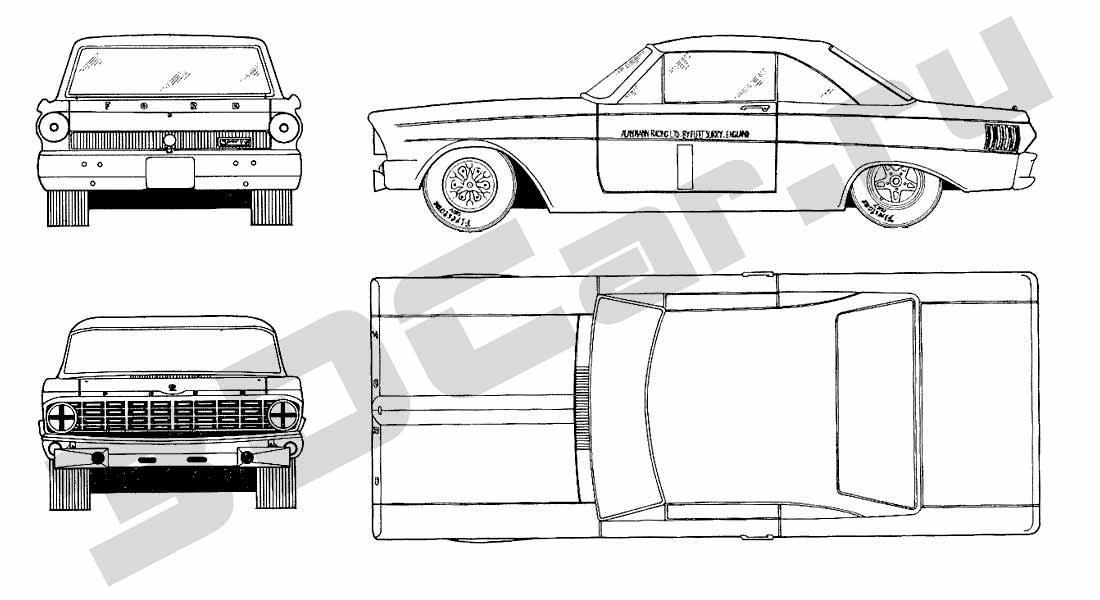 ford falcon blueprints