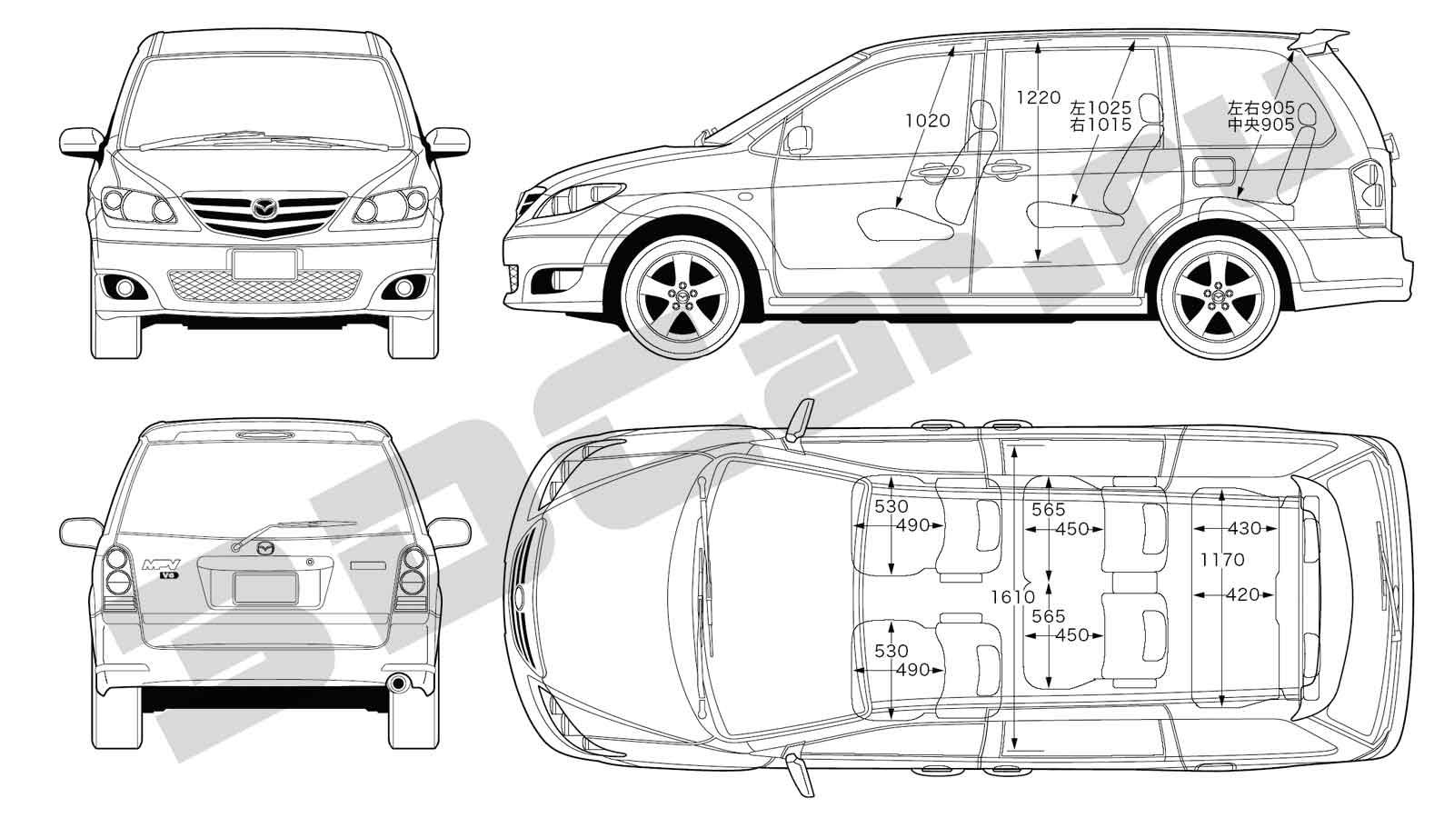 Mazda MPV - Клуб любителей автомобилей Mazda.
