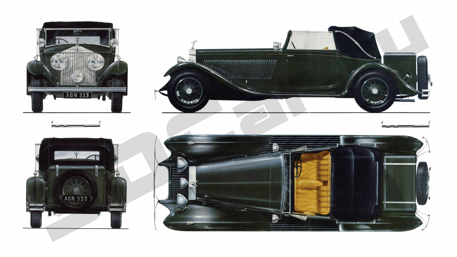 Rolls Royce Phantom II Continental (1933)