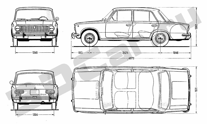 """На базе ВАЗ-2101 было создано так называемое  """"классическое """" семейство автомобилей ВАЗ."""