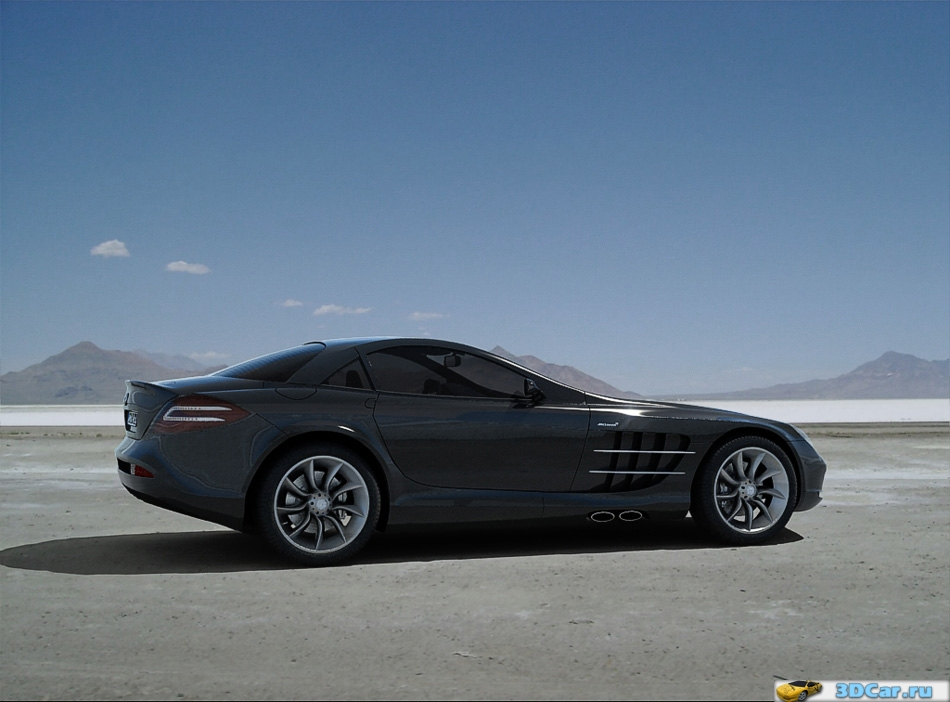 Mercedes-Benz SLR McLaren (in color)