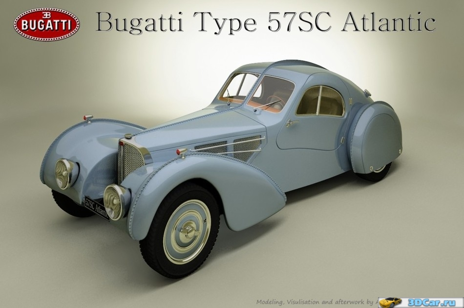 Bugatti Type SC Atlantic