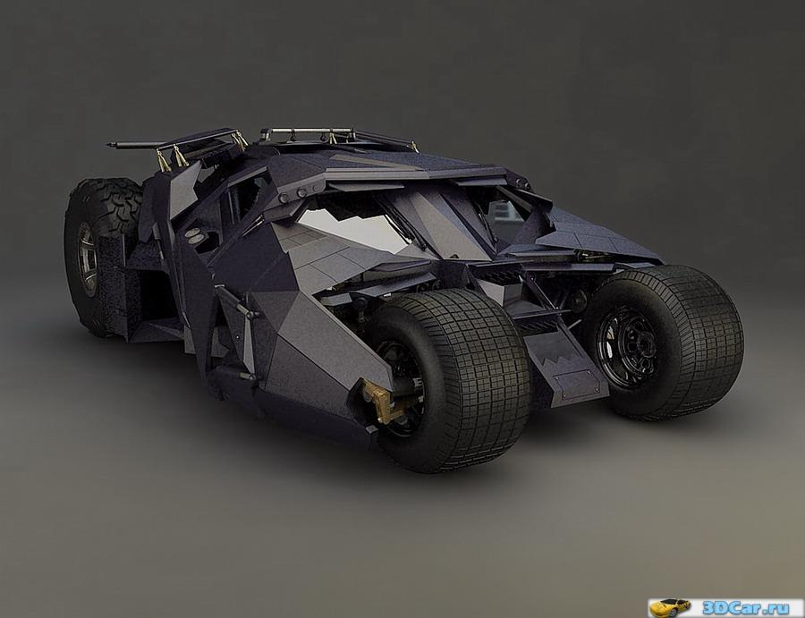 Batmobile Tumbler Begins