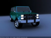 Jeep Combo Concept American's 80's