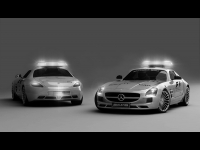 Mercedes Benz SLS AMG F1 Safety Car