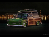 Trabant p50 Woody Wagon Hot Rod