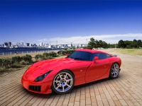 Red TVR Sagaris